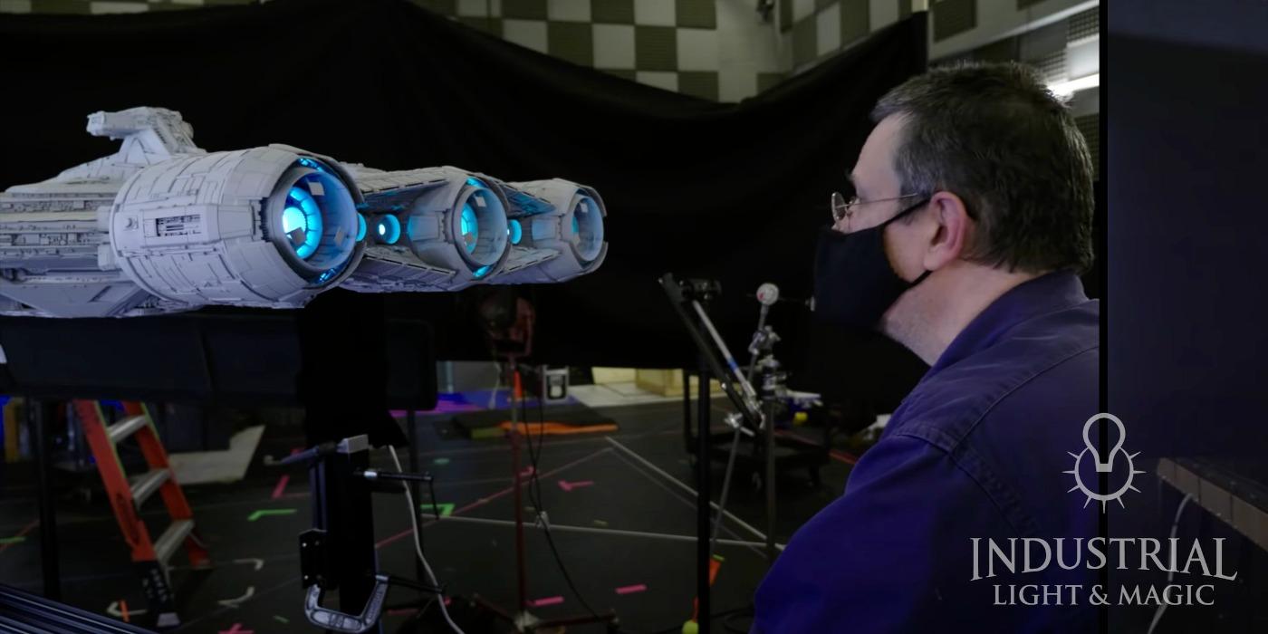 The Mandalorian Moff Gideon Cruiser VFX Model