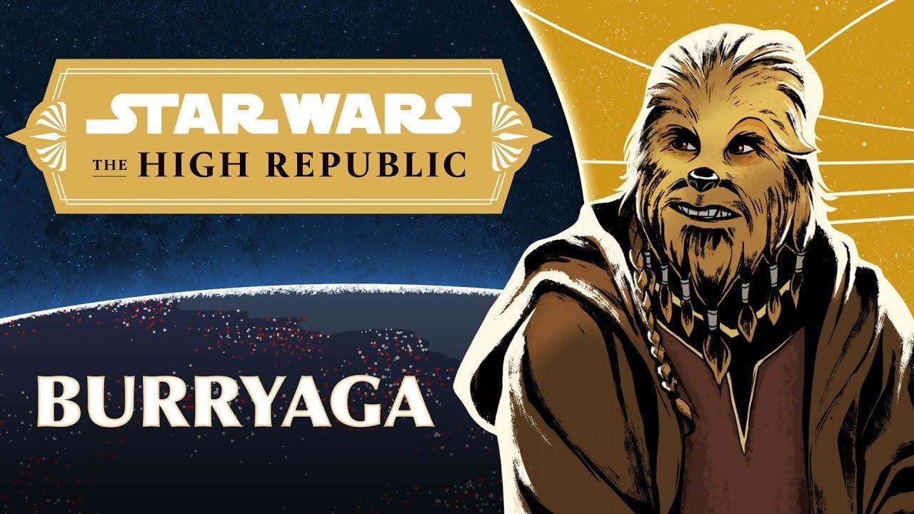Characters of 'Star Wars: The High Republic' – Meet Burryaga Agaburry