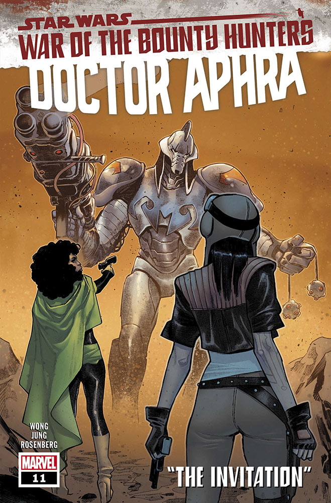 Star Wars Doctor Aphra Durge cover