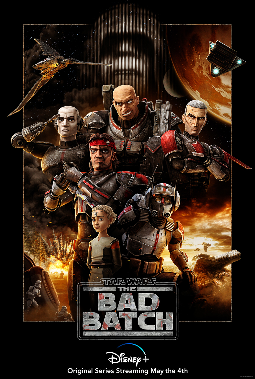 Star Wars The Bad Batch Official Poster