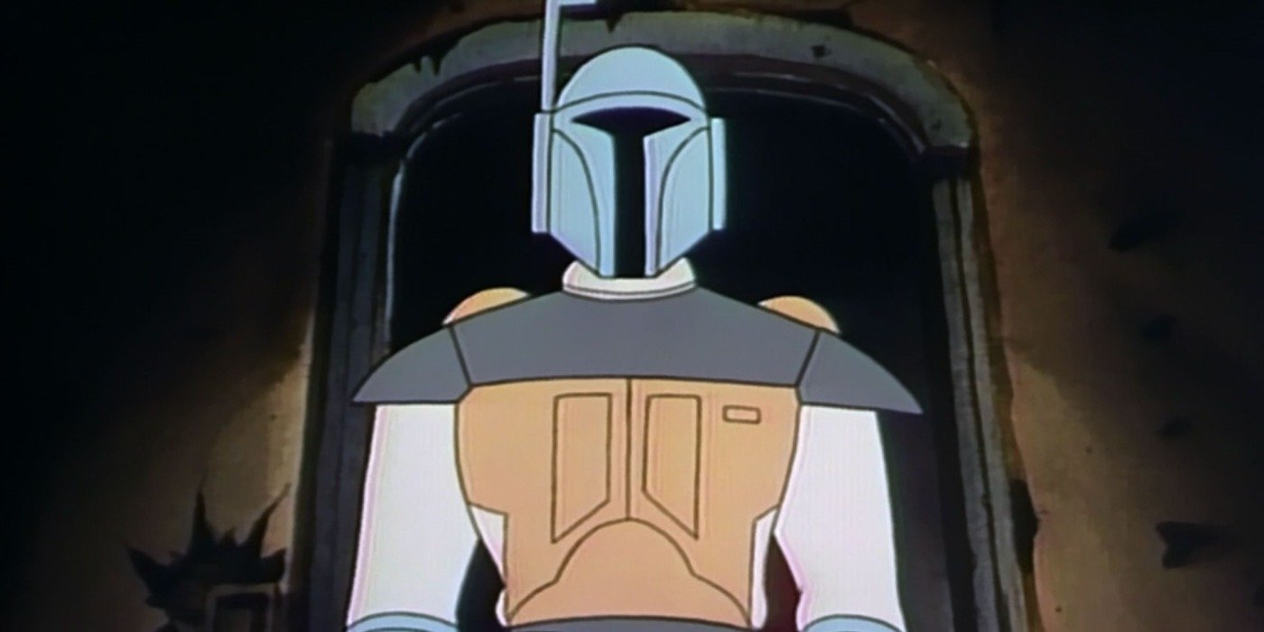 Boba Fett from Star Wars Droids