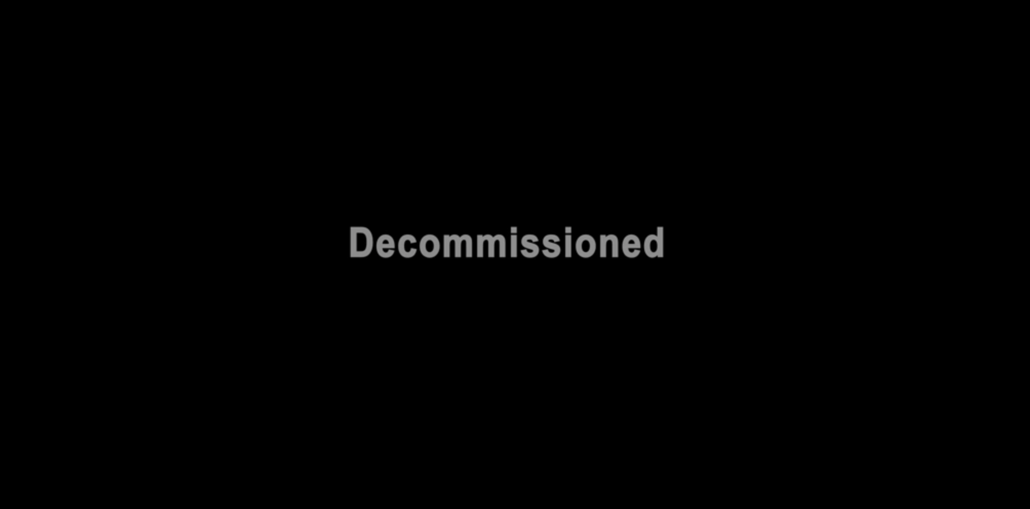 Decommissioned title card for The Bad Batch