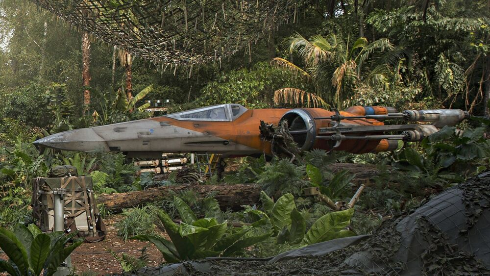 Poe Dameron's X-wing in TROS