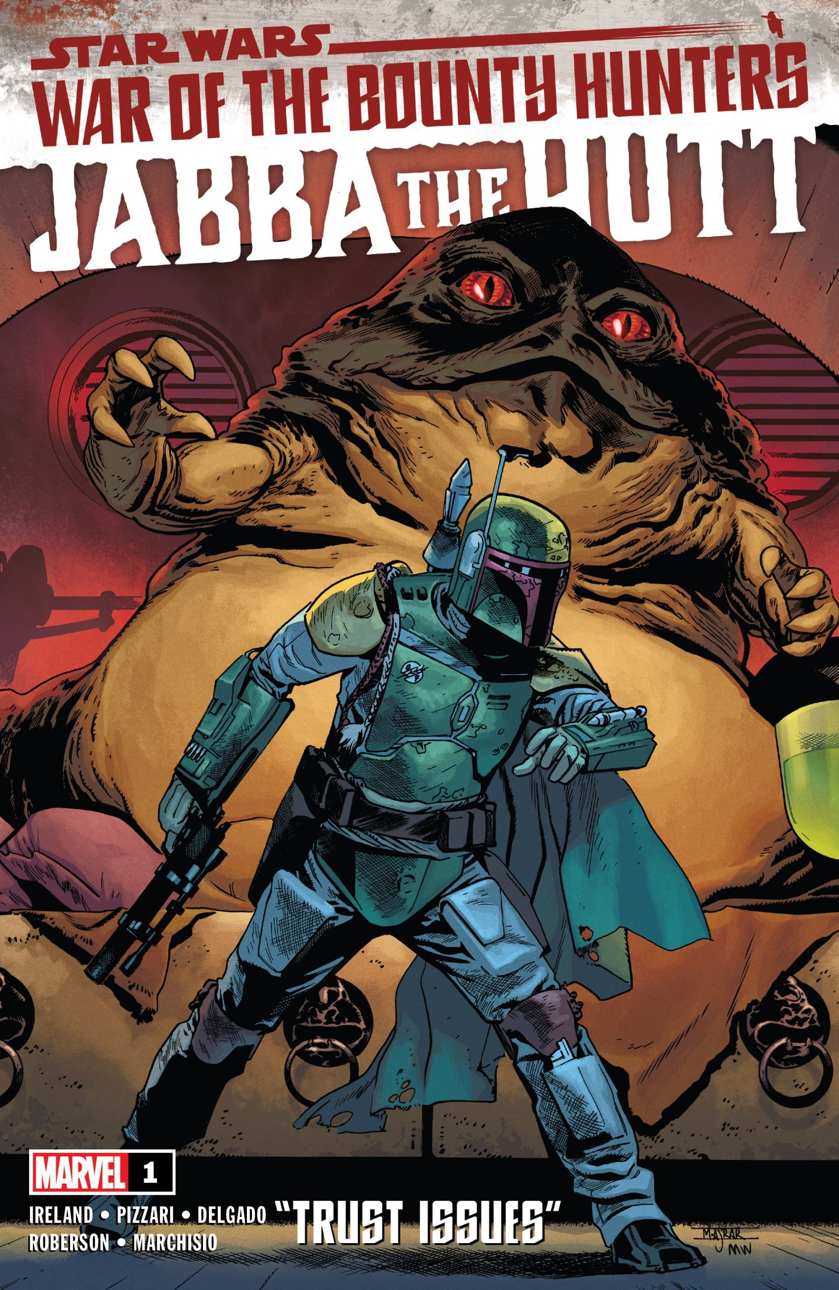 Review: A New Player Enters the Game in 'Jabba the Hutt #1'