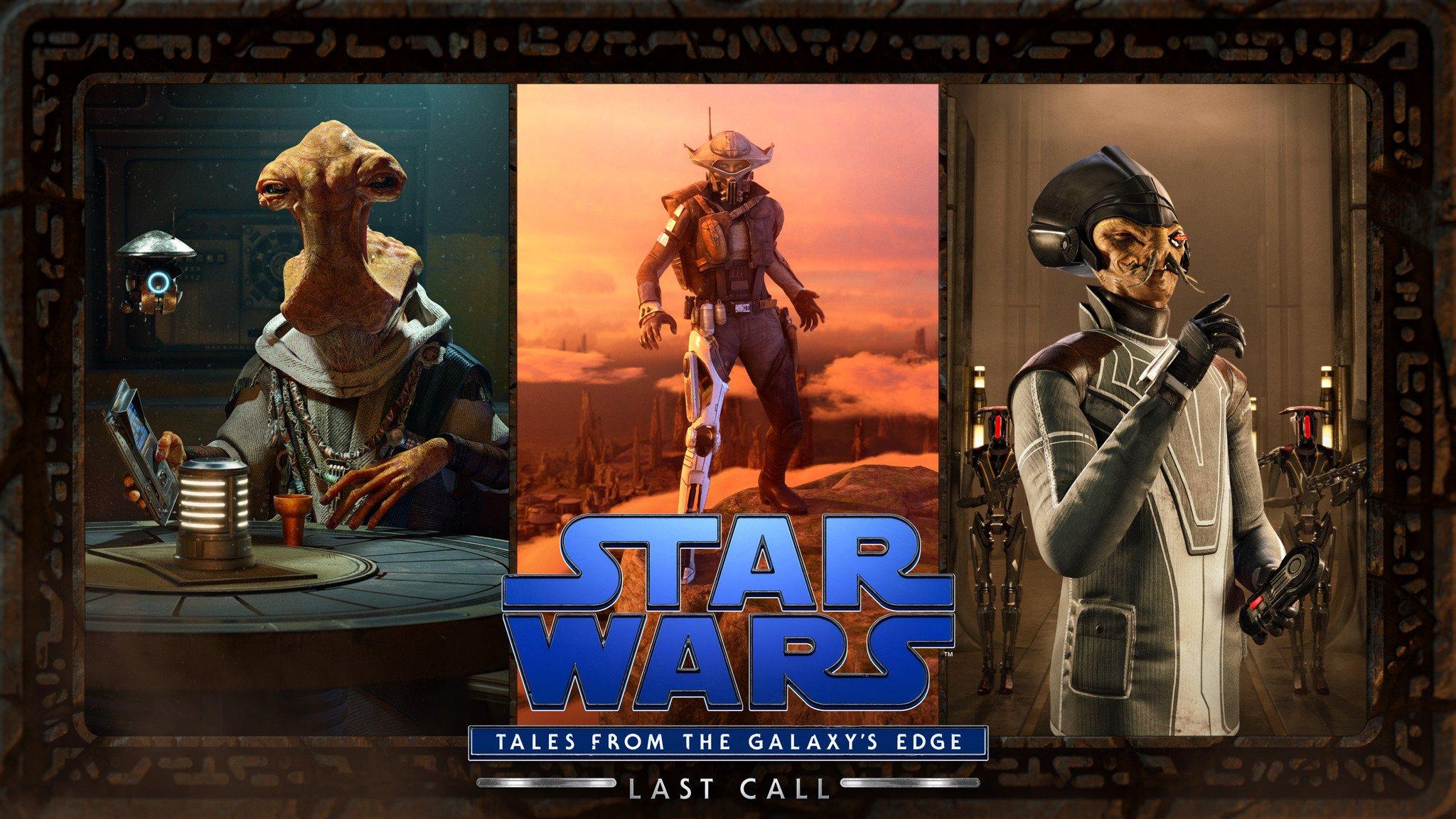 Star Wars: Tales From Galaxy's Edge