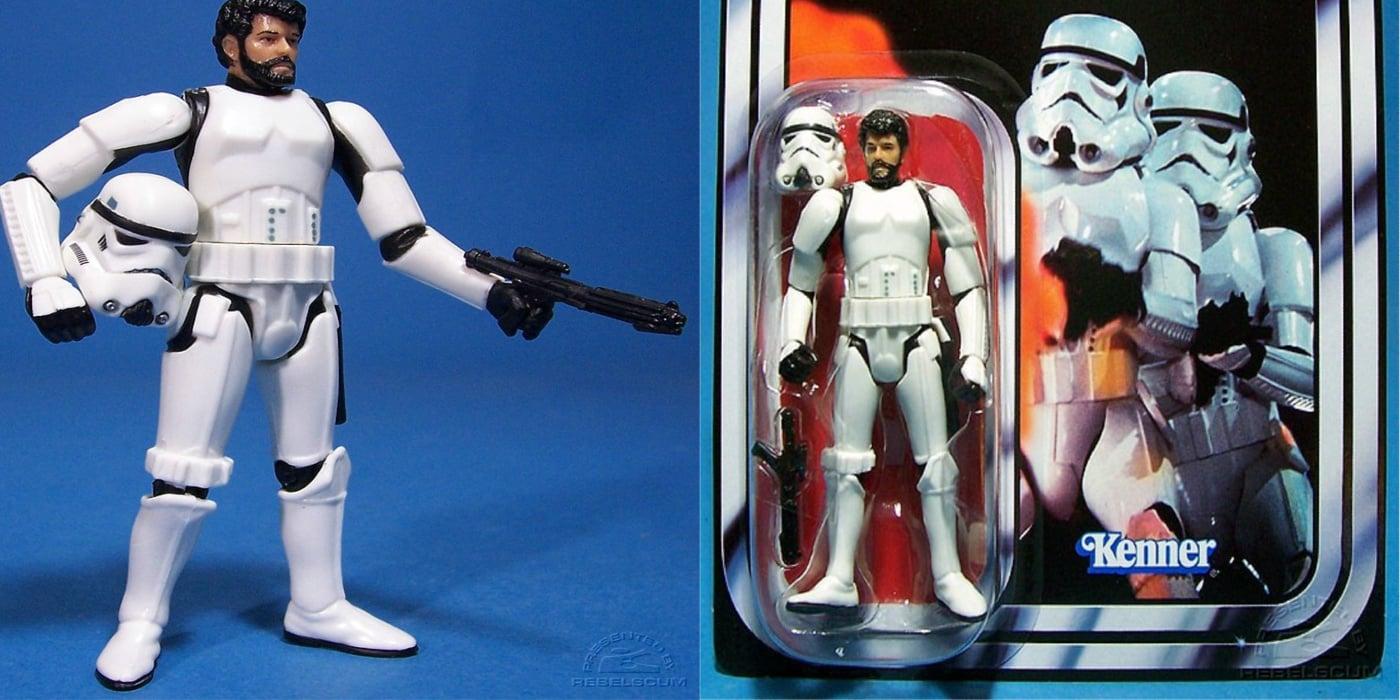 Kenner's George Lucas stormtrooper