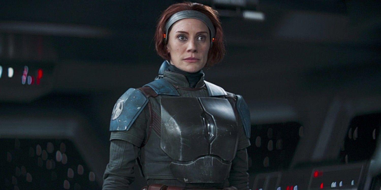 Katee Sackhoff in The Mandalorian S2