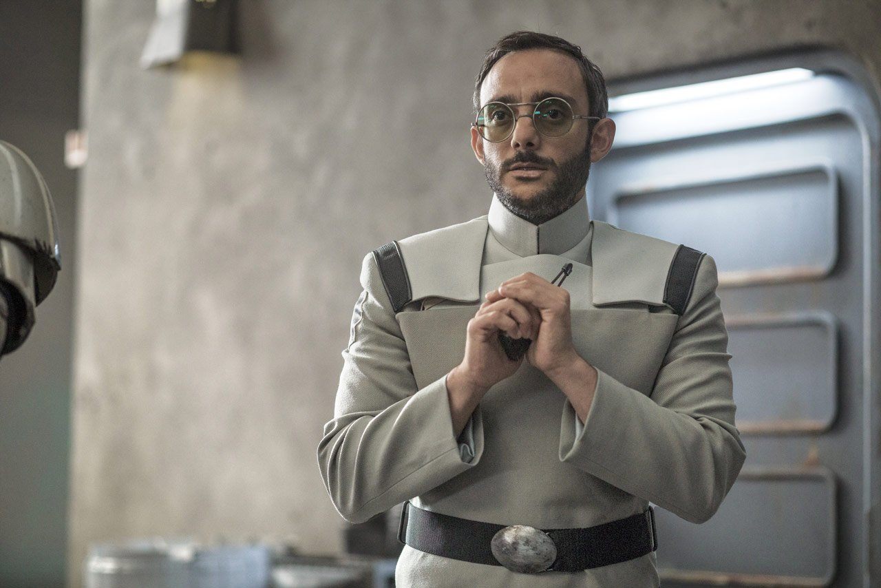 Dr Pershing from The Mandalorian