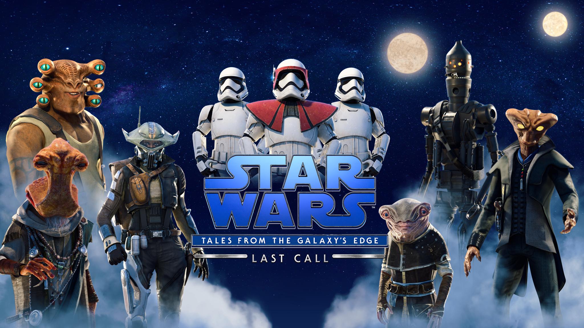 Star Wars: Tales from The Galaxy's Edge - Last Call store art