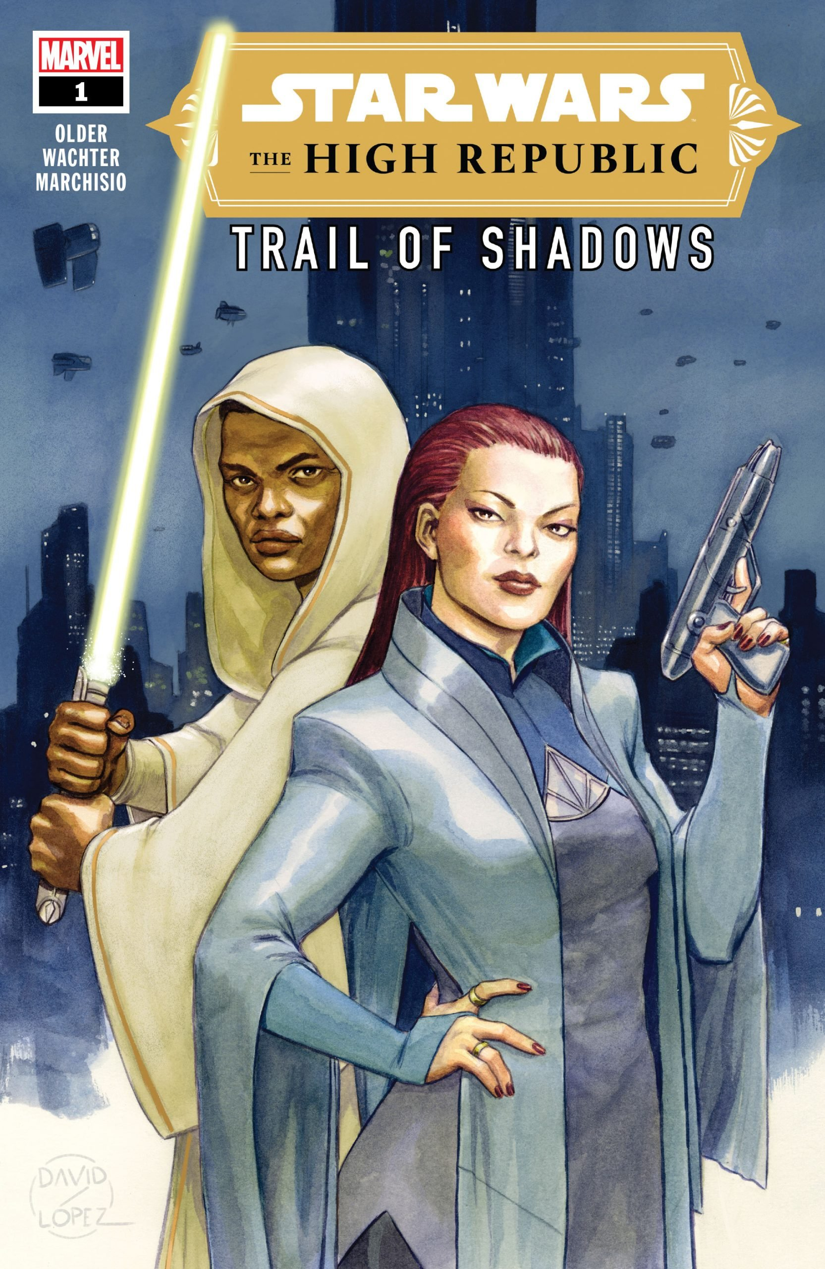 Review: Mysteries and Creepy Nursery Rhymes Abound in 'Star Wars: The High Republic – Trail of Shadows' #1